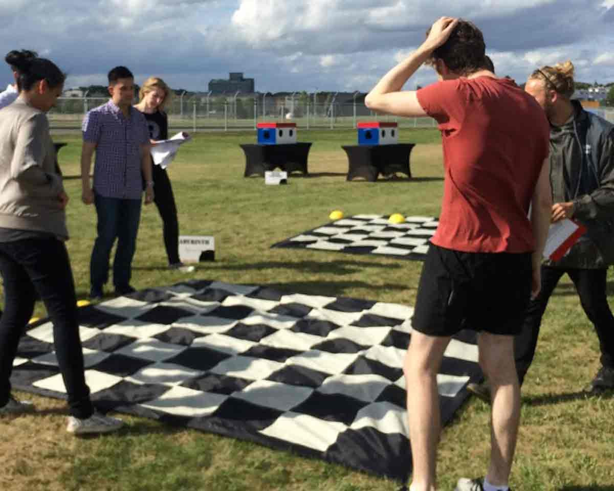 2017 company offsite outdoor games