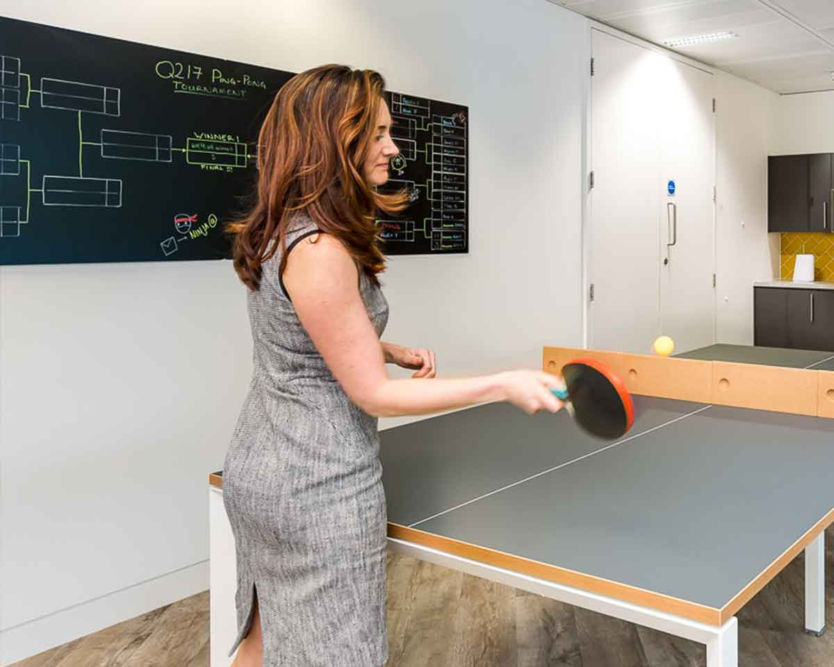 Ping-Pong at the office