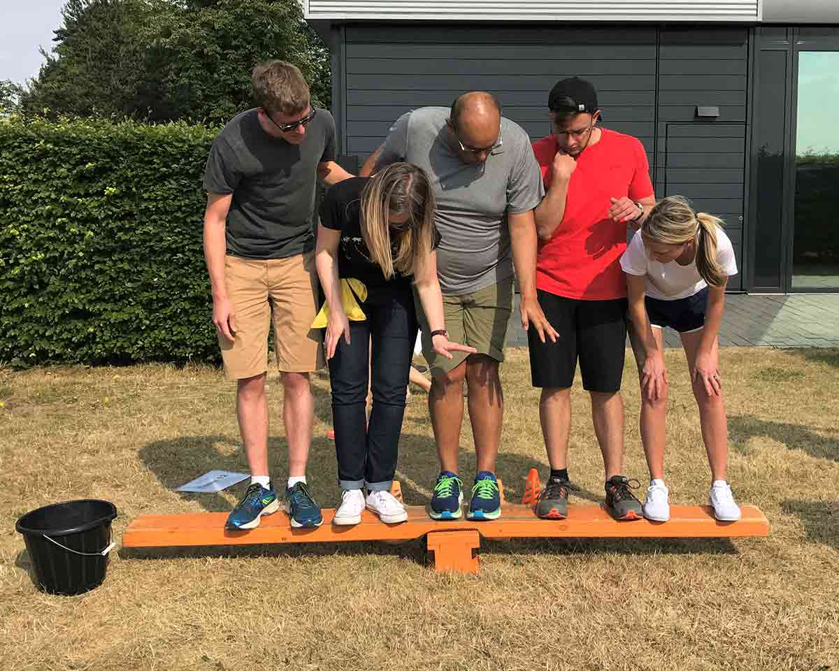 2018 company offsite outdoor games