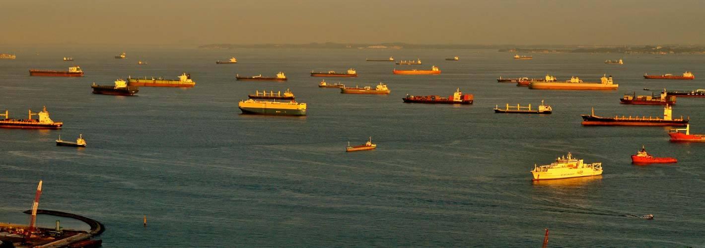 Global trade flows image
